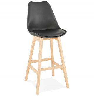 Tabouret de bar design APRIL KOKOON BS01880BLNA