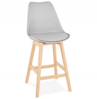 Tabouret de bar design APRIL MINI KOKOON BS01940GRNA
