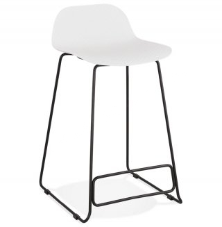 Tabouret de bar design SLADE MINI KOKOON BS02110WHBL