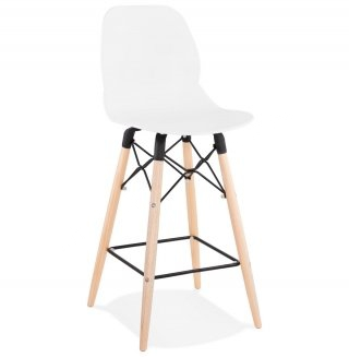 Tabouret de bar design MARCEL MINI KOKOON BS02250WH