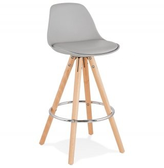 Tabouret de bar design ANAU MINI KOKOON BS02300GR