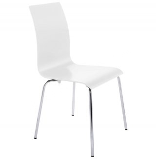chaise design (non empilable) CLASSIC KOKOON CH00060WH