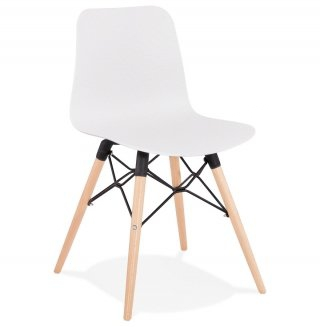 Chaise design GINTO KOKOON CH02110WH