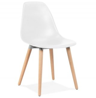 Chaise design DOC KOKOON CH02160WH