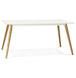 Table à diner design CRUSH KOKOON DT00410WH