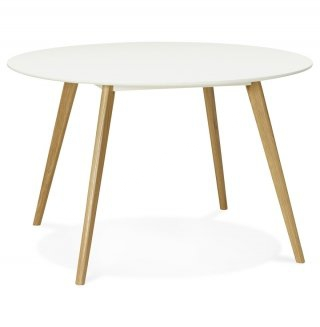 Table à diner design CAMDEN KOKOON DT00420WH