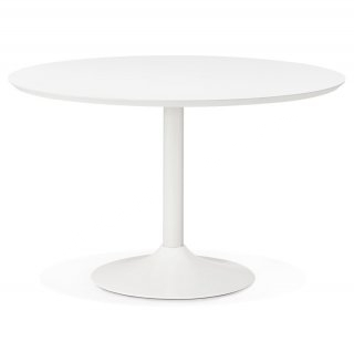 Table à diner design BURO 120 KOKOON DT00450WH