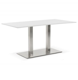 Table à diner design SUTTON KOKOON DT00860WH