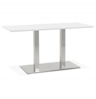 Table à diner design RECTA KOKOON DT00870WH
