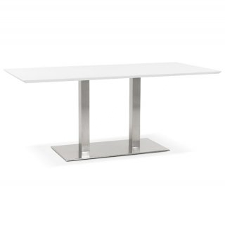 Table à diner design RECTA KOKOON DT00910WH