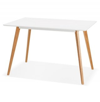 Table à diner design RITA KOKOON DT01000WH
