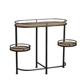 CONSOLE ETAGERES RONDES MM01237