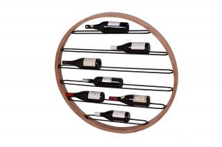 PORTE-BOUTEILLE MURAL ROND MM01309