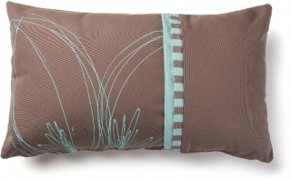 LF - Coussin Agua coussin turquoise marron
