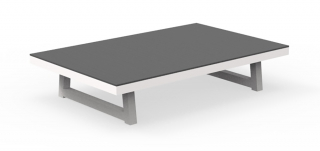 TALENTI - Table basse Alabama table basse blanche