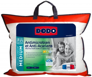 DODO - Oreiller rectangle Antimicrobien oreiller 50x70cm