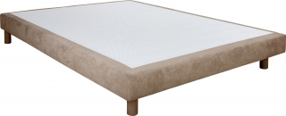 UB DESIGN - Sommier 120 x 190 Chatel Light 120x190cm Bronx taupe