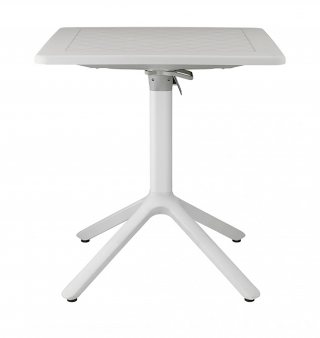 SCAB DESIGN - Table extérieure Table rabattable Eco 70x70 lin