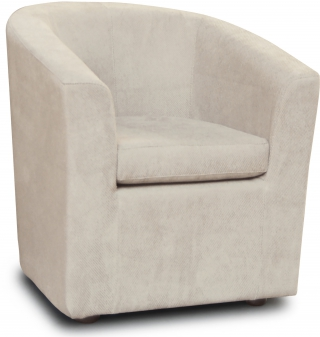CITY - Fauteuil Jasper velours vangogh 801