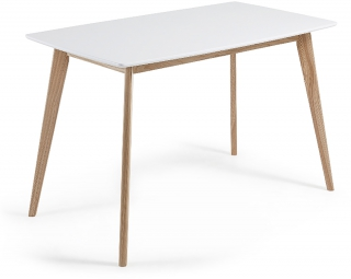 LF - Table de salle à manger Unit 140 x 80 cm blanc