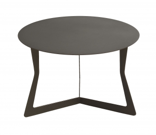 EGOITALIANO - Table basse Saturne métal brown diamètre 60 cm